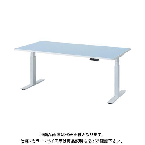 【運賃見積り】 【直送品】 TRUSCO リノリューム天板 電動昇降式ワークデスク 1800×900×620~1275 RMB-1890