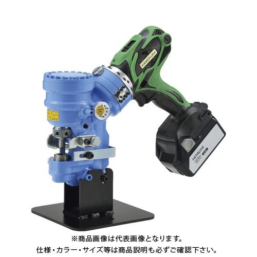 【運賃見積り】 【直送品】 亀倉 コードレスポートパンチャー RW-B1A