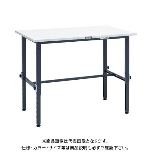 【運賃見積り】 【直送品】 TRUSCO SAEM型高さ調整作業台 1200X750 DG色 SAEM-1200 DG