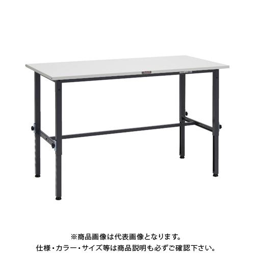 【運賃見積り】 【直送品】 TRUSCO SAEM型高さ調整作業台 1200X600 DG色 SAEM-1260 DG