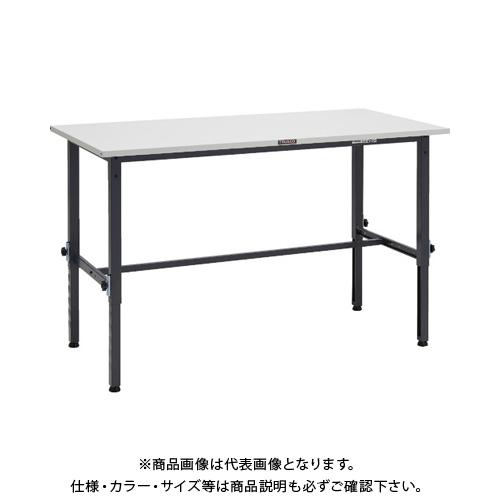 【運賃見積り】 【直送品】 TRUSCO SAEM型高さ調整作業台 1500X600 DG色 SAEM-1560 DG