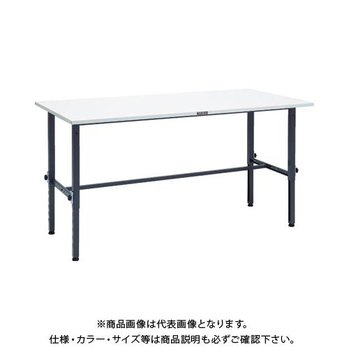 【運賃見積り】 【直送品】 TRUSCO SAEM型高さ調整作業台 1800X900 DG色 SAEM-1809 DG