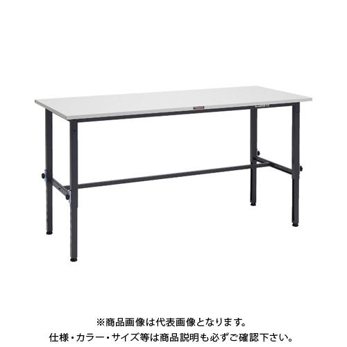 【運賃見積り】 【直送品】 TRUSCO SAEM型高さ調整作業台 1800X600 DG色 SAEM-1860 DG