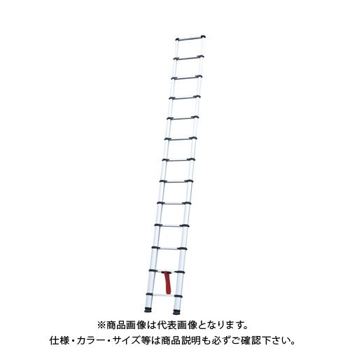 【運賃見積り】【直送品】ピカ 伸縮はしご PTHS380J