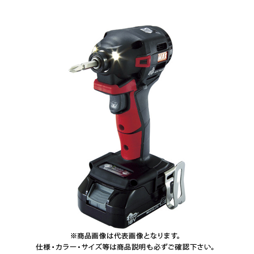 MAX 18V充電インパクトドライバセット(アカ)2.5Ah PJ-ID152R-B2C/1825A