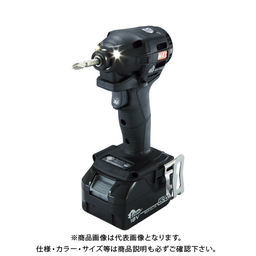 MAX 18V充電インパクトドライバセット(クロ)5.0Ah PJ-ID152K-B2C/1850A