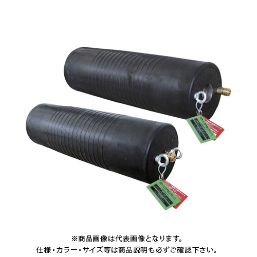 【運賃見積り】【直送品】Hoshin 止水ボール ロングタイプ 500-1000 バイパス付 PL500-1000BA