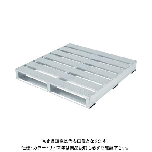 【運賃見積り】 【直送品】 アルインコ アルミパレット PLT型 片面二方差し 1100X1100 PLT1111