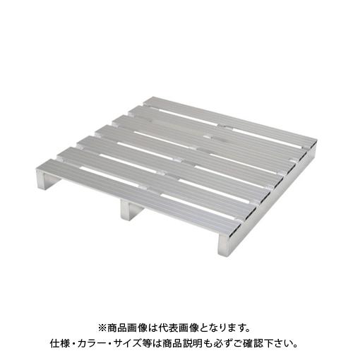 【運賃見積り】 【直送品】 ピカ アルミパレット PTA型 単面二方差し 900X900mm PTA-0909S2