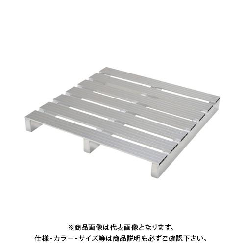 【運賃見積り】 【直送品】 ピカ アルミパレット PTA型 単面二方差し 1100X1000mm PTA-1110S2