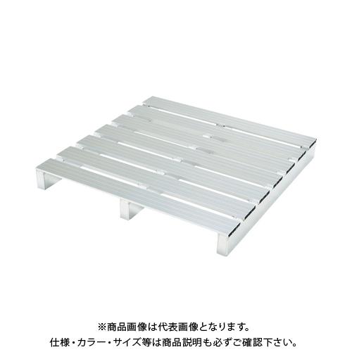 【運賃見積り】 【直送品】 ピカ アルミパレット PTA型 単面二方差し 1100X1100mm PTA-1111S2