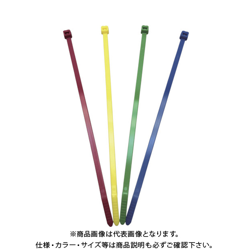 パンドウイット ナイロン結束バンド 黄 (1000本入) PLT2I-M4Y