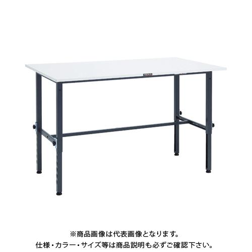 【運賃見積り】 【直送品】 TRUSCO RAEM型高さ調節作業台 1500X900 DG色 RAEM-1509 DG