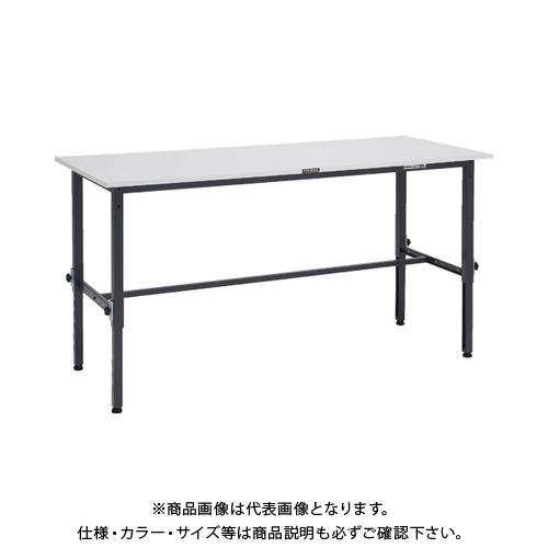 【運賃見積り】 【直送品】 TRUSCO RAEM型高さ調節作業台 1800X600 DG色 RAEM-1860DG