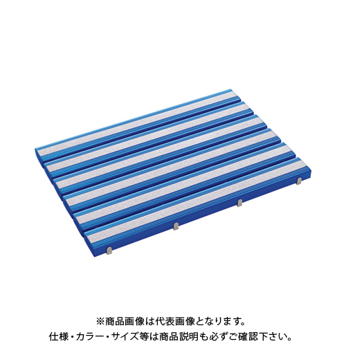 【運賃見積り】 【直送品】 テラモト 抗菌滑り止め安全スノコ(組立品)600×1800青 MR-098-445-3