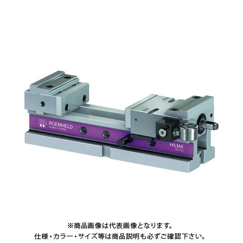 【個別送料2000円】【直送品】ROEMHELD HILMA 精密マシン・バイス NC125M NC125M