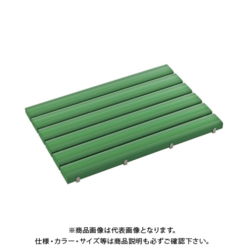 【運賃見積り】 【直送品】 テラモト 抗菌安全スノコ(組立品)600×1200緑 MR-093-343-1
