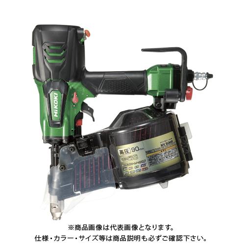 HiKOKI 高圧ロール釘打機90mmメタリックグリーン NV90HR-SL