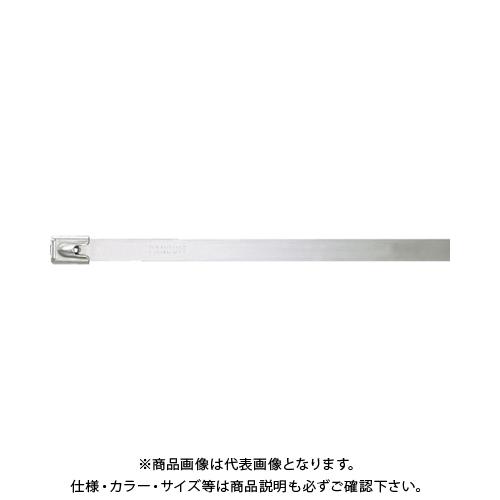 パンドウイット MLTタイプ 自動ロック式ステンレススチールバンド SUS304 幅12.7mm 長さ754mm 50本入り MLT8EH-LP MLT8EH-LP