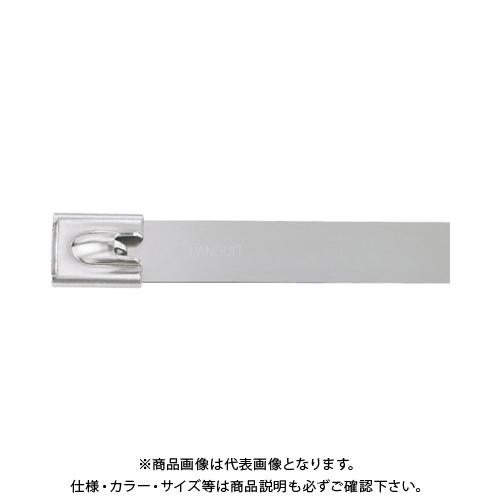 パンドウイット MLTタイプ 自動ロック式ステンレススチールバンド SUS304 幅12.7mm 長さ754mm 50本入り MLT8EH15-LP MLT8EH15-LP
