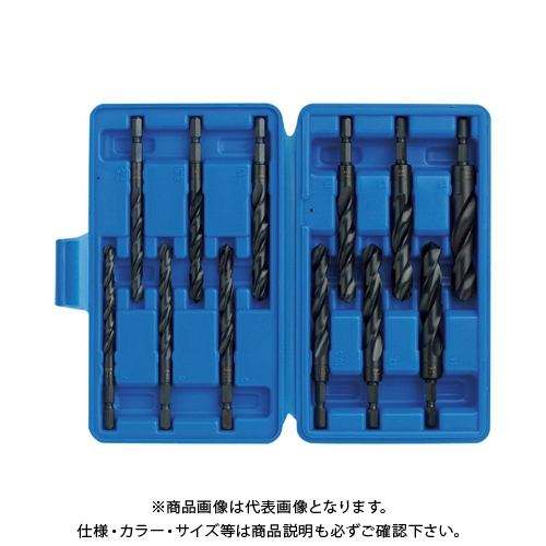 TOP 大径鉄工ドリルセット ETD-715S