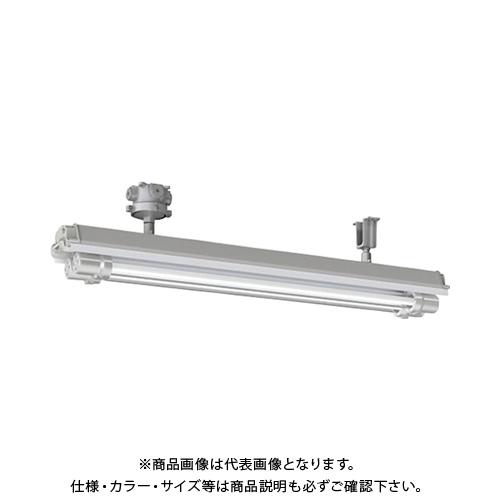 【運賃見積り】【直送品】岩崎 防爆形直管LED照明器具32×2定格出力形相当 直付形 電線管径φ22 EXILF1421BSA9N-22