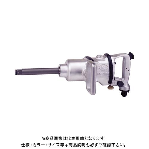 空研 3/4インチSQ6インチロング中型インパクトレンチ19mm角 1台=1袋 KW-20GI-6