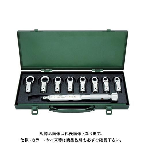 ASH トルクレンチめがねヘッドセット LC045N+8-19MM LCR2000