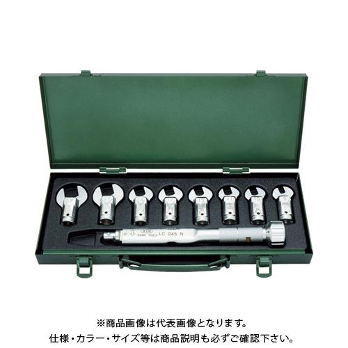 ASH トルクレンチスパナヘッドセット LC045N+8-19mm LCS2000