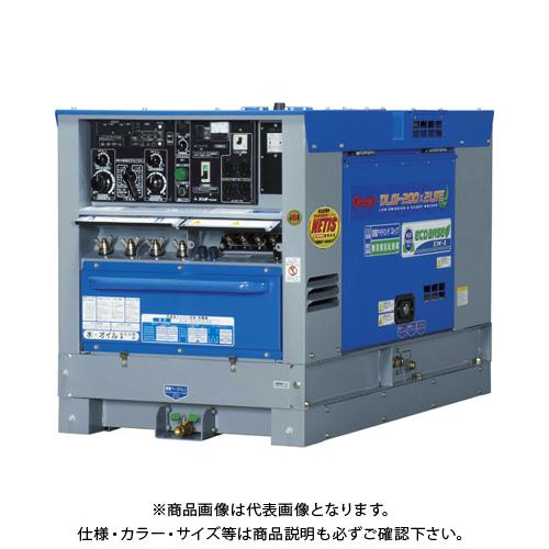 【6月5日限定!Wエントリーでポイント14倍!】【直送品】デンヨー ディーゼルエンジン溶接機超低騒音型 DLW-200X2LSE