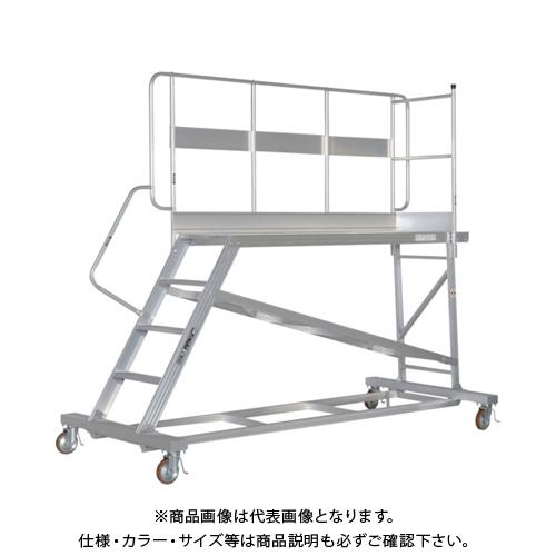 【運賃見積り】【直送品】ピカ 連結式大型作業台 手すりL型 DXL-TE90AL