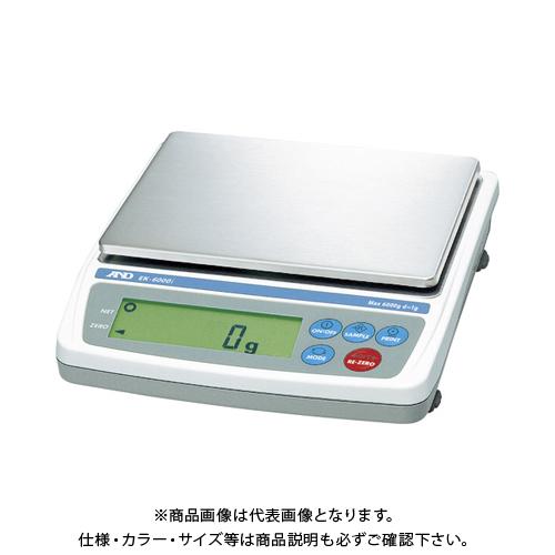 【直送品】A&D パーソナル天びん EK6000i JCSS校正付 EK6000I-JA-00J00