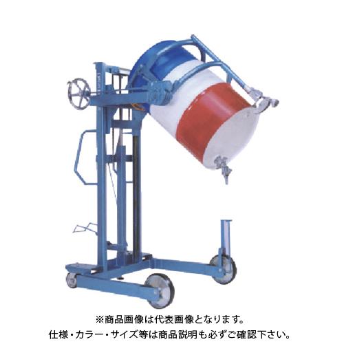 【運賃見積り】【直送品】タイユー ドラムダンパー 投入高さ1100mm DM1100-S