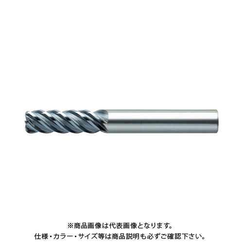 ユニオンツール 超硬エンドミル ラジアス φ8×コーナ半径R0.5×刃長24 CXRS5080-05-2400