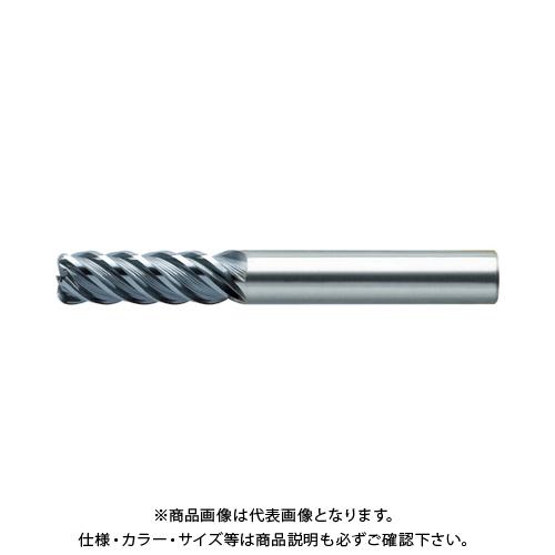 ユニオンツール 超硬エンドミル ラジアス φ10×コーナ半径R0.5×刃長20 CXRS5100-05-2000