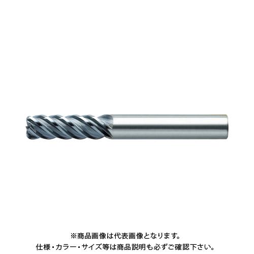 ユニオンツール 超硬エンドミル ラジアス φ10×コーナ半径R0.5×刃長30 CXRS5100-05-3000