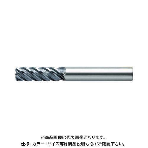 ユニオンツール 超硬エンドミル ラジアス φ12×コーナ半径R0.5×刃長24 CXRS5120-05-2400