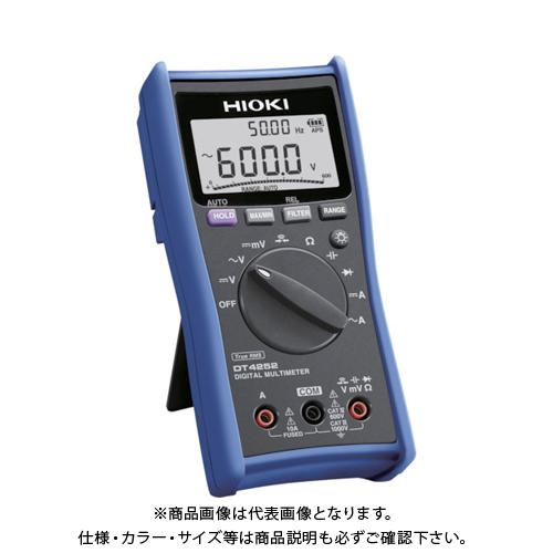 HIOKI HIOKI デジタルマルチメータ DT4252 書類3点付 書類3点付 DT4252SYORUI3TENTUKI, 和にゃん:16270ef6 --- data.gd.no
