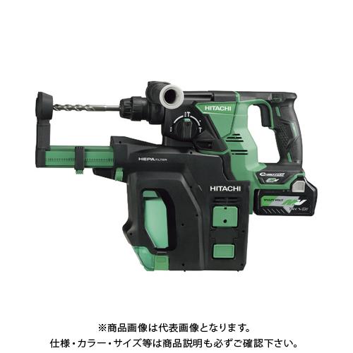【運賃見積り】【直送品】HiKOKI 36Vコードレスロータリハンマドリル 新マルチボルト集塵システム搭載 DH36DPB-2XP