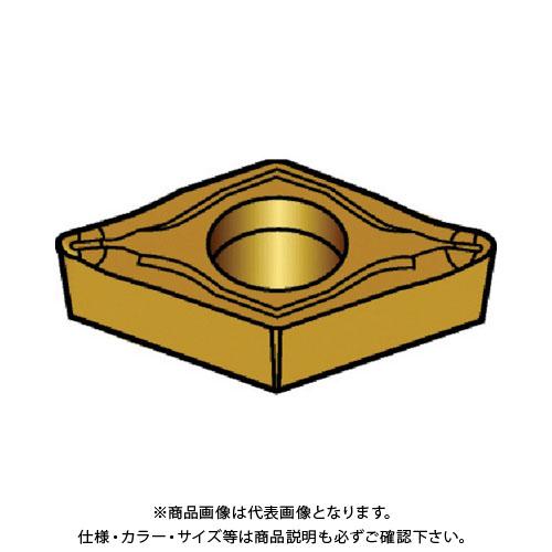 サンドビック コロターン107 旋削用ポジ・チップ 1125 10個 DCET 07 02 01-UM:1125
