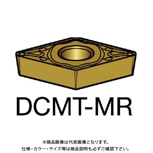 サンドビック コロターン107 旋削用ポジ・チップ 2035 10個 DCMT 11 T3 08-MR:2035