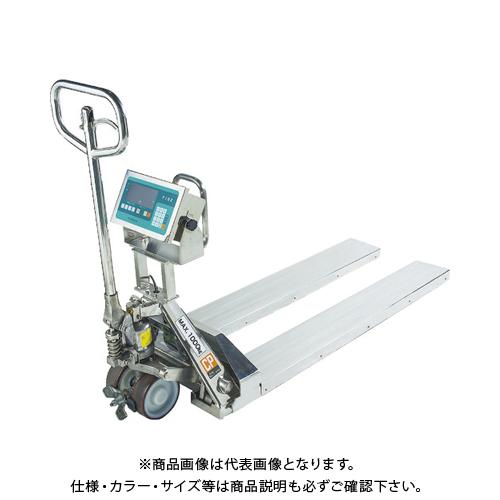 【運賃見積り】【直送品】TANAKA ハンドパレットスケール SUS製 DPS-1500K-SUS