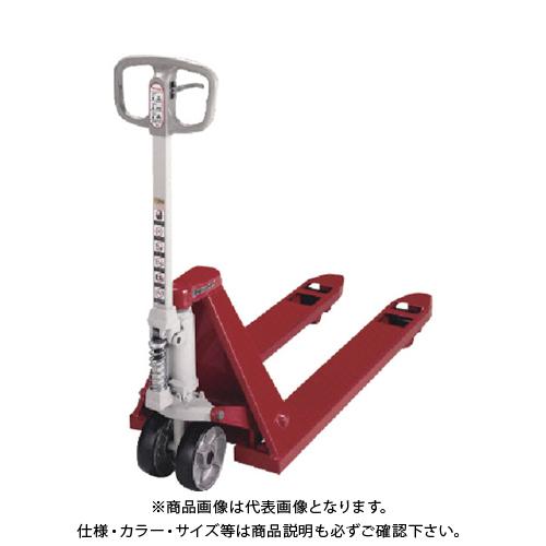 【直送品】ビシャモン ハンドパレットトラック(極低床式) BM10M-L40