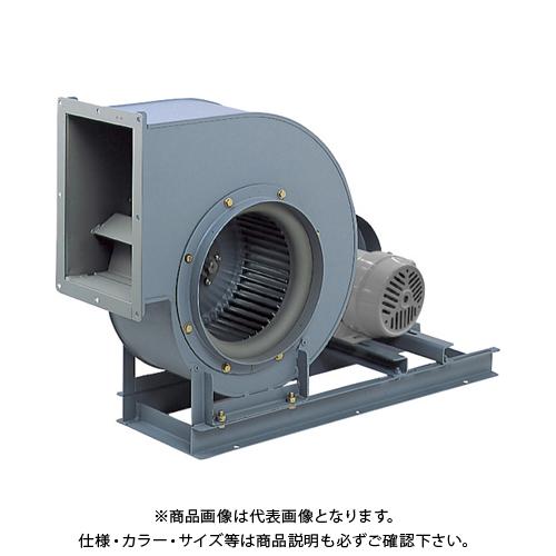 【直送品】テラル シロッコファン(多翼送風機)片吸込片持形ベルト駆動式 吐出口外径130×165mm CLF6-NO.1-RS-DI-0.2