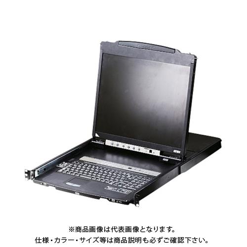 【運賃見積り】 【直送品】 ATEN KVMドロワー 16ポート/19インチLCD一体型/マルチインターフェース/ロングレール CL5816NJJL