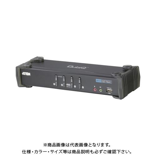 ATEN KVMPスイッチ 4ポート / DVI / USB2.0ハブ搭載 CS1764A