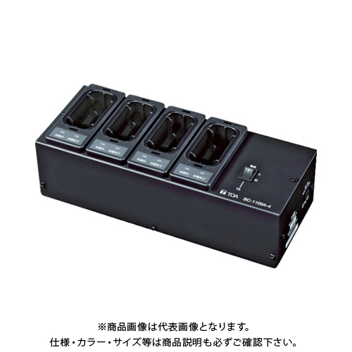 TOA ワイヤレスガイド用充電器 4台用 BC-1100A-4