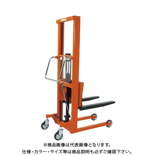 【運賃見積り】 【直送品】 TRUSCO コゾウリフター 600kg フォーク式 H115-1535 BEA-H600-15B