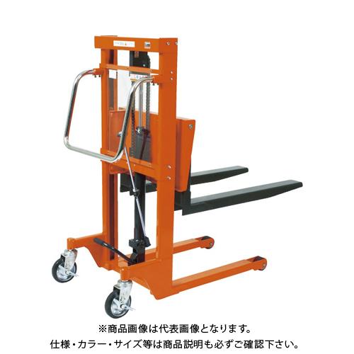 【直送品】TRUSCO コゾウリフター 150kg フォーク式 H72-1200 BEA-H150-12