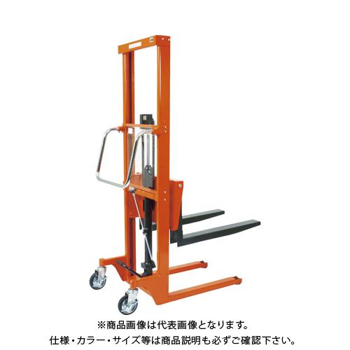 【直送品】TRUSCO コゾウリフター 150kg フォーク式 H50-1180 BEA-H150-12-5H